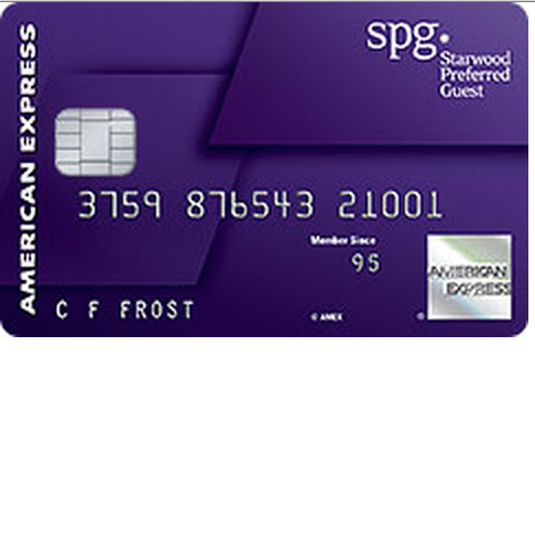Starwood Preferred Amex Credit Card