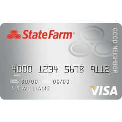 State Farm Good Neighbor Visa Credit Card
