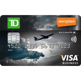 TD Canada Trust Aeroplan Business Visa Credit Card