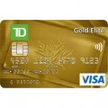 TD Canada Trust Gold Elite Visa Credit Card