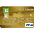 TD Canada Trust Gold Select Visa Credit Card
