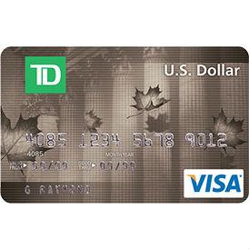 TD Canada Trust U.S. Dollar Visa Credit Card