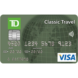 TD Classic Travel Visa Credit Card Login | Make a Payment