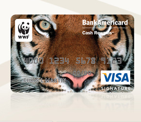 World Wildlife Fund BankAmericard Credit Card