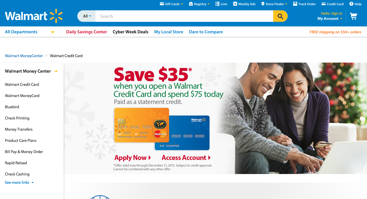 Walmart card offer prescreen - Walmart Credit Card Apply 2 Apply Walmart Credit Card