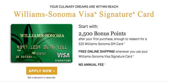 William-Sonoma-Credit-card-apply now