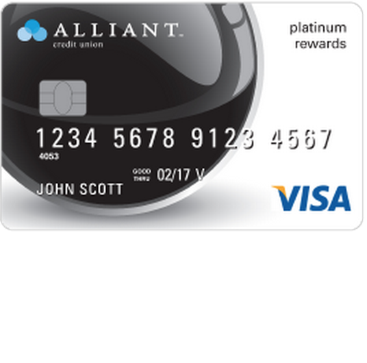 Alliant Visa Platinum Rewards Credit Card