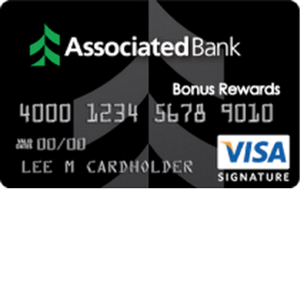 Associated Bank Visa Bonus Rewards Credit Card
