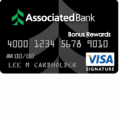 Associated Bank Visa Bonus Plus Rewards Credit Card