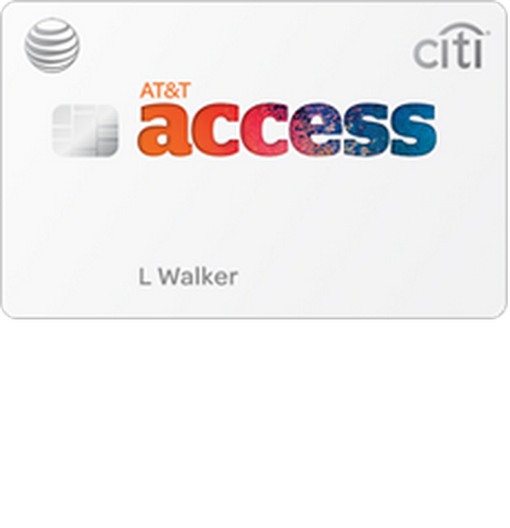 AT&T Access Citi Credit Card