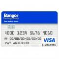 Bangor Savings Bank Visa Business Card