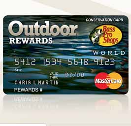 Bass Pro Shops Outdoor Rewards Credit Card