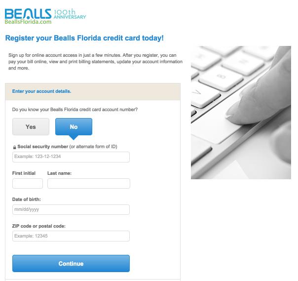 Bealls Florida Credit Card Login
