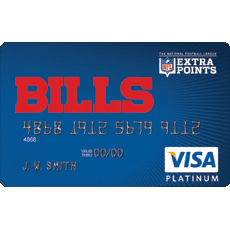 Buffalo Bills Extra Points Card