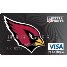 Arizona Cardinals Extra Points Rewards Credit Card