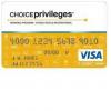Choice Privileges Visa Signature Card