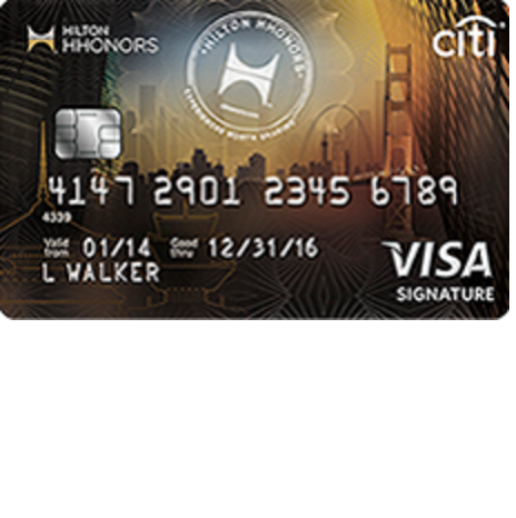 Citi HHonors Visa Credit Card