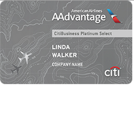 Citibusiness AAdvantage Platinum Select Credit Card