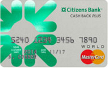 Citizen's Bank Cash Back Mastercard