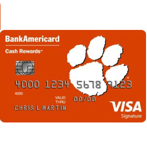Clemson Alumni Association Credit Card