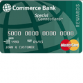 Commerce Bank Special Connections Mastercard Credit Card