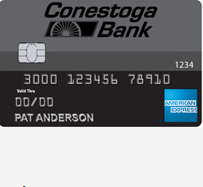 Conestoga Bank Cash Rewards American Express Credit Card
