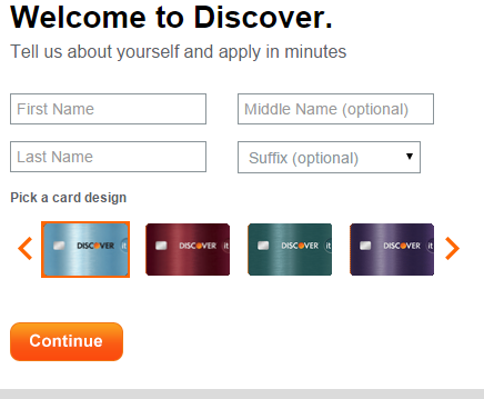 Change Design On Discover Card
