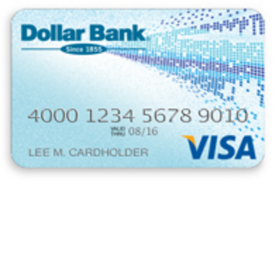 Dollar Bank Valued Customer Visa Credit Card