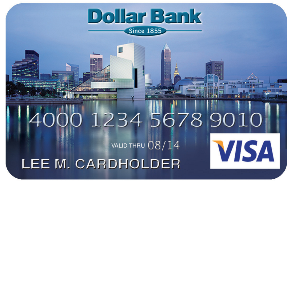 Dollar Bank City Pride Visa Credit Card