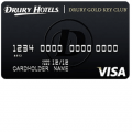 Drury Gold Key Club Credit Card