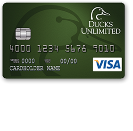 Ducks Unlimited Secured Visa