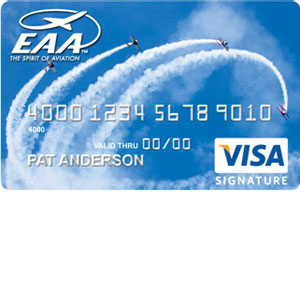 EAA Visa Signature Credit Card