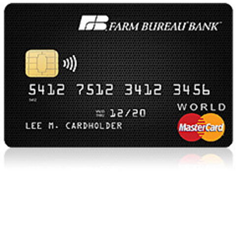 Farm Bureau Member Rewards MasterCard