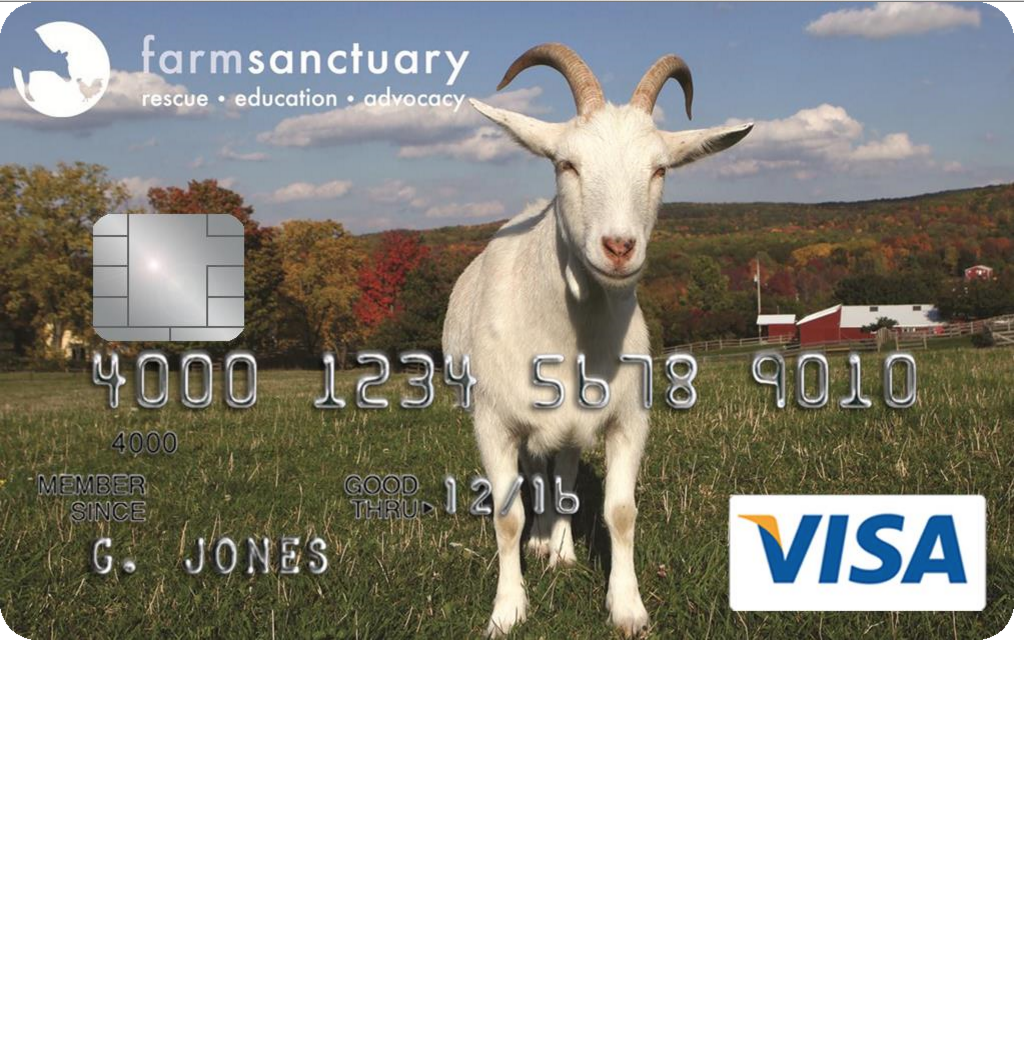 How to Apply for the Farm Sanctuary Credit Card