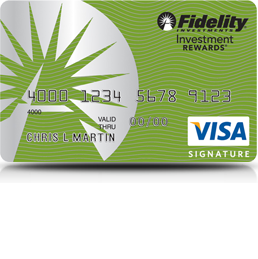 Fidelity Visa Signature Credit Card