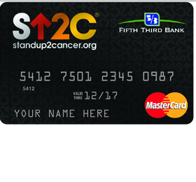 Fifth Third Stand Up To Cancer Credit Card