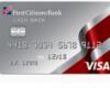 First Citizen Cash Back Credit Card