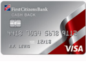 First Citizen Cash Back Credit Card