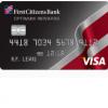First Citizens Optimum Rewards Credit Card