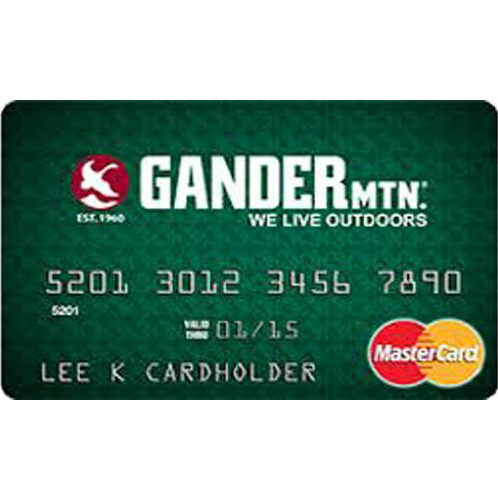 Gander Mountain Credit Card