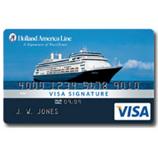 Holland America Line Rewards Visa Credit Card