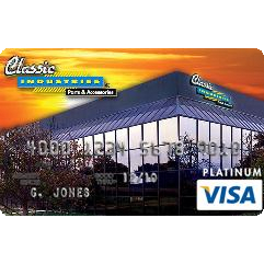 Classic Industries Platinum Visa Rewards Credit Card