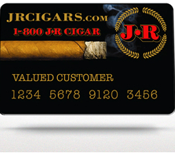 J.R. Cigar Credit Card