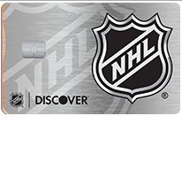 NHL Discover it Credit Card