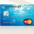 Norwegian Cruse Line MasterCard Credit Card