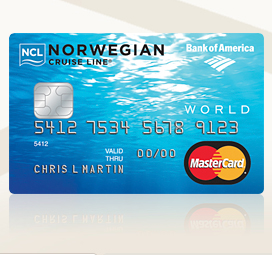 Norwegian Cruse Line MasterCard Credit Card