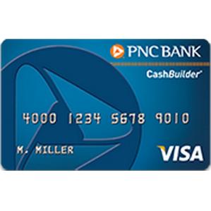 PNC CashBuilder Visa Credit Card