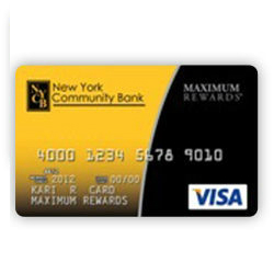 New York Community Bank Rewards Visa Credit Card