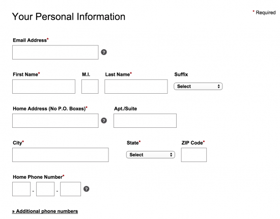 sears-personal-information-application-apply-page
