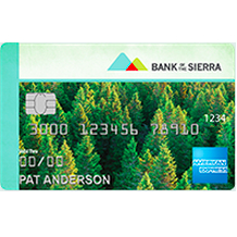 Bank of the Sierra Travel Rewards American Express Card